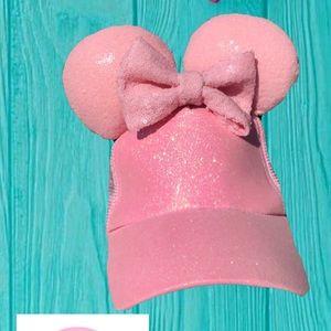 🆕Millennial Pink Mini high ponytail hat